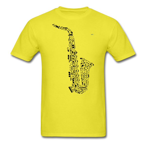 Music Men's T-Shirt - yellow