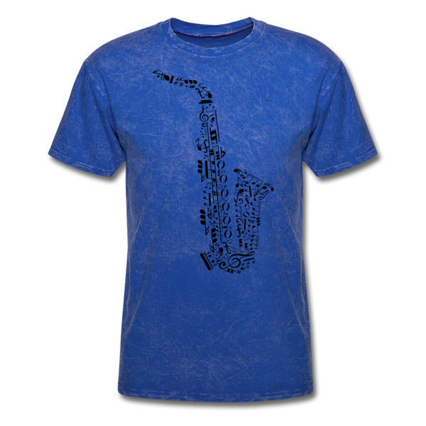Music Men's T-Shirt - mineral royal