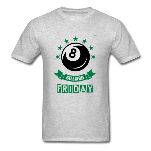 Friday Billiard Men's T-Shirt - heather gray