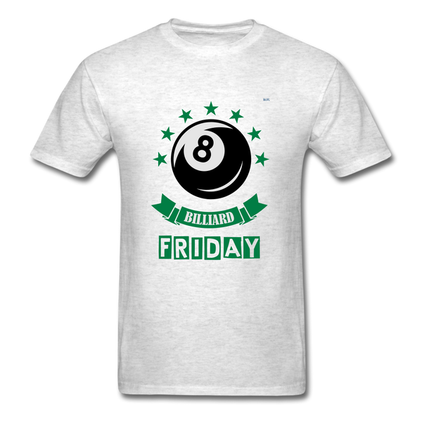 Friday Billiard Men's T-Shirt - light heather gray