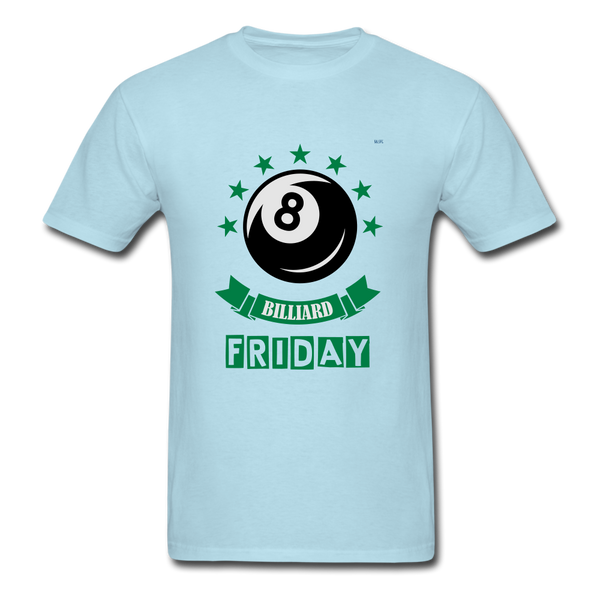 Friday Billiard Men's T-Shirt - powder blue