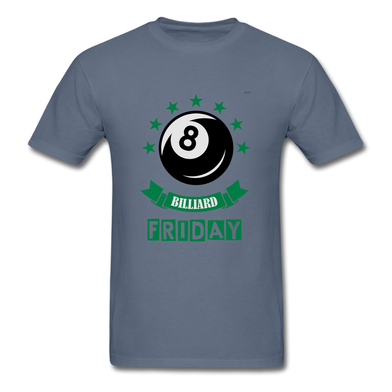 Friday Billiard Men's T-Shirt - denim