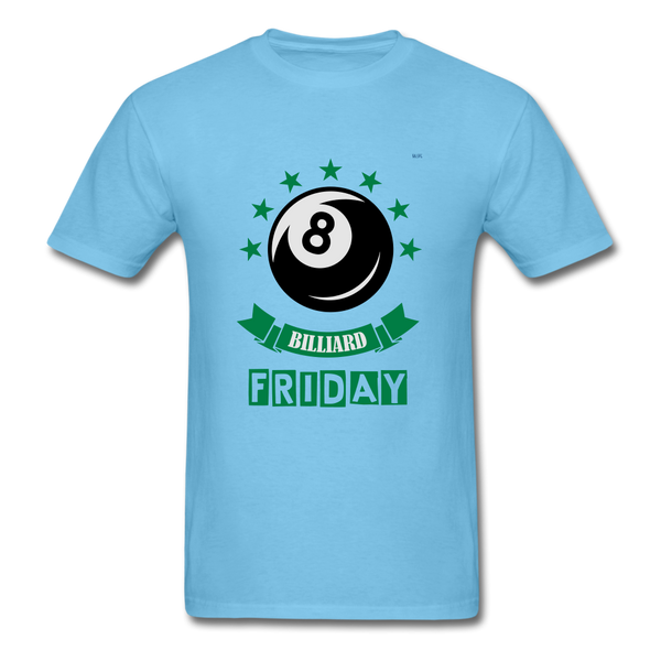 Friday Billiard Men's T-Shirt - aquatic blue