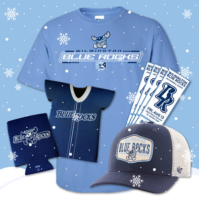 Wilmington Blue Rocks Adult Holiday Gift Package