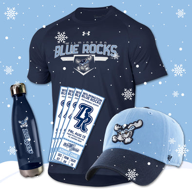 Wilmington Blue Rocks Adult Under Armour Holiday Gift Package