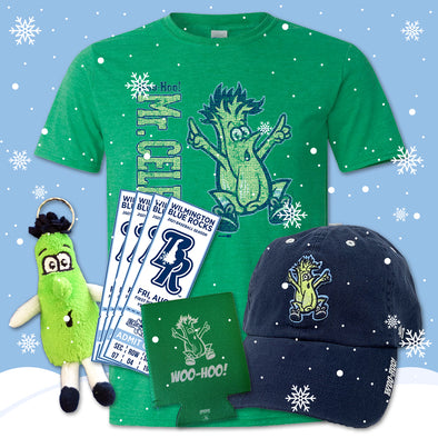 Wilmington Blue Rocks Mr. Celery Adult Holiday Gift Package