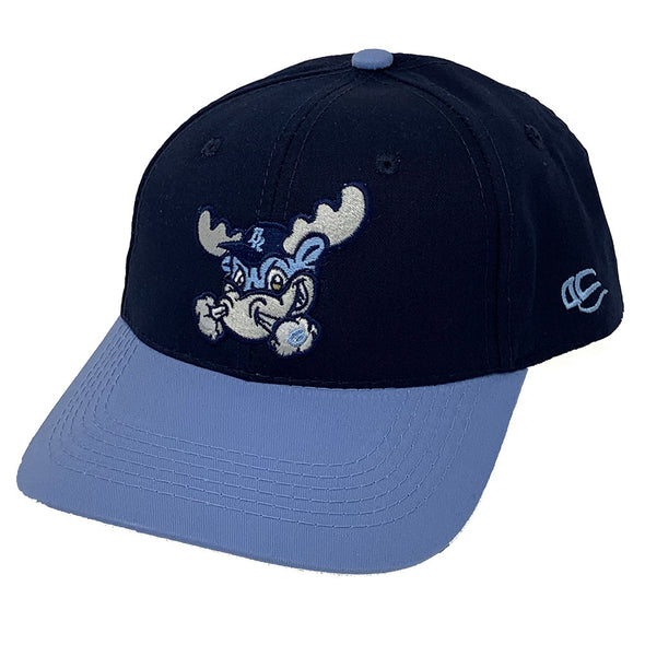 Wilmington Blue Rocks Adult Road Replica Cotton Twill Cap