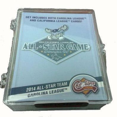 Wilmington Blue Rocks 2014 Carolina/California League All-Star Team Set