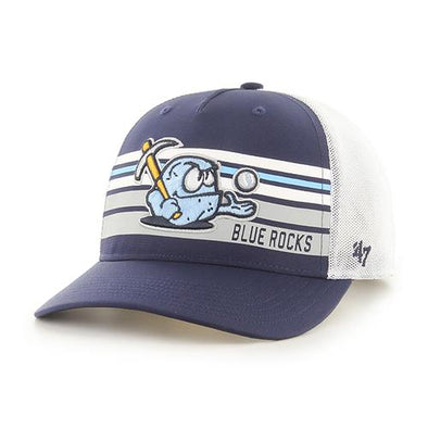 Wilmington Blue Rocks '47 Altitude Snap Back Cap w/ Rubble