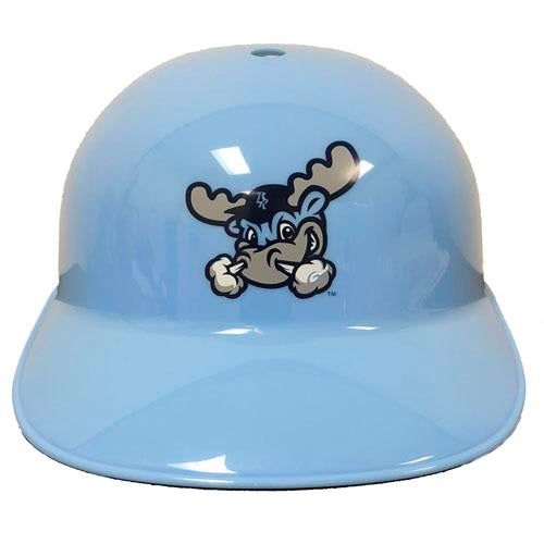 Wilmington Blue Rocks Car. Blue Home Batting Helmet