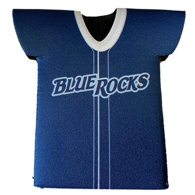 Wilmington Blue Rocks Jersey Bottle Koozie