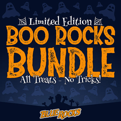 "Wilmington Blue Rocks ""Boo"" Rocks Halloween Bundle"