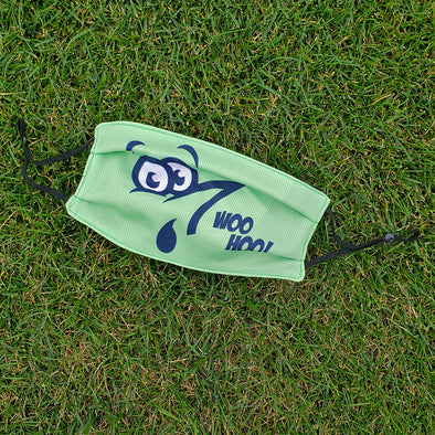 Wilmington Blue Rocks Mr. Celery Face Mask