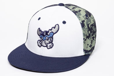 Wilmington Blue Rocks Digital Camo Stretch Fit Cap