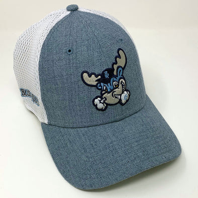 Wilmington Blue Rocks Heather Car. Blue Rocky Stretch Fit Cap