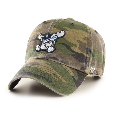 Wilmington Blue Rocks Camo Clean-Up Cap