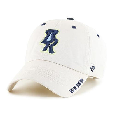 Wilmington Blue Rocks '47 Natural Clean-Up Adj. Cap
