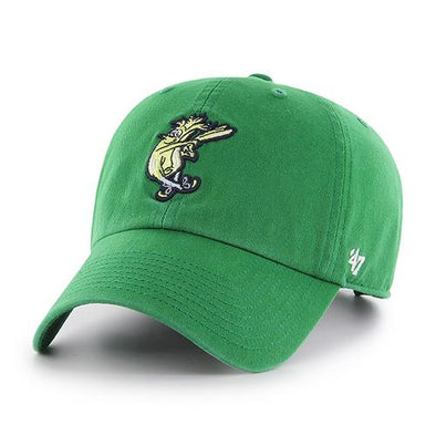 Wilmington Blue Rocks '47 Green Mr. Celery Clean Up Cap