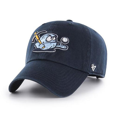 Wilmington Blue Rocks '47 Navy Rubble Clean-Up Cap