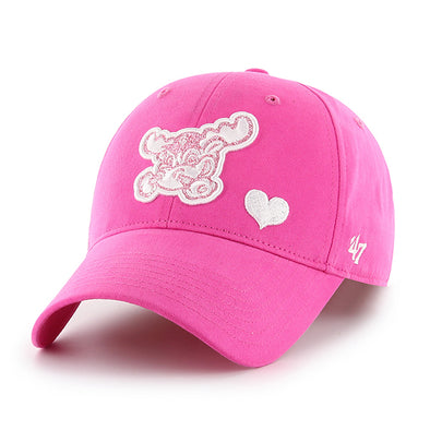 Wilmington Blue Rocks Girls Magenta Adjustable Cap