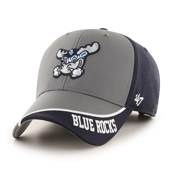 Wilmington Blue Rocks Dark Gray/Navy Tennyson Adj. Cap