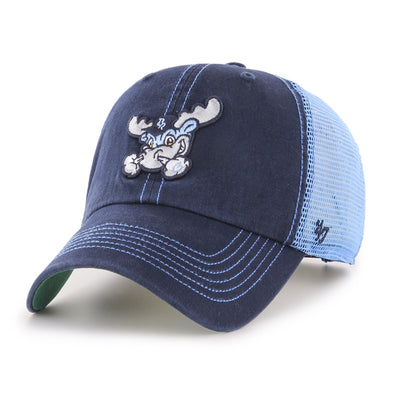 Wilmington Blue Rocks Youth Navy/Carolina Blue Trawler Adj. Cap