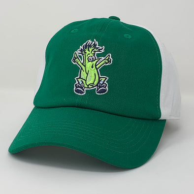 Wilmington Blue Rocks Mr. Celery Green/White Adj. Cap