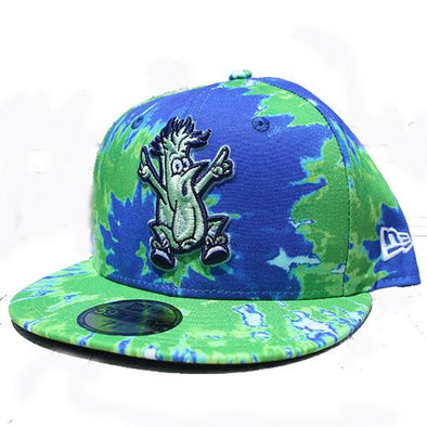 Wilmington Blue Rocks Mr. Celery Tie-Dye Fitted Cap