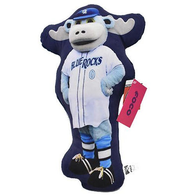 Wilmington Blue Rocks Rocky Bluewinkle Pillow