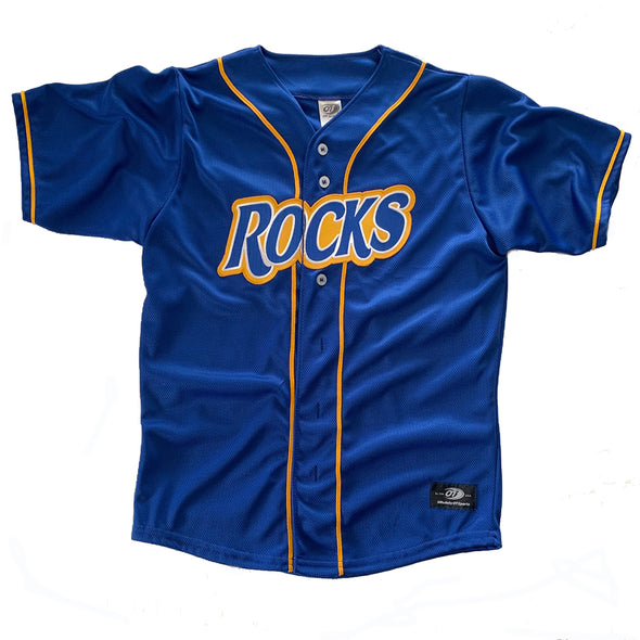 Wilmington Blue Rocks Youth Royal Alternate Replica Jersey