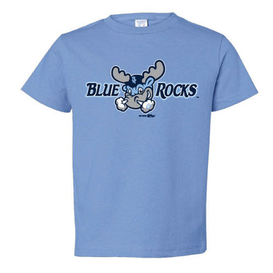 Wilmington Blue Rocks Toddler Car. Blue Alt. Primary Tee