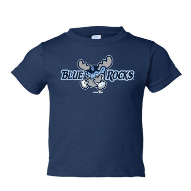 Wilmington Blue Rocks Toddler Navy Alt. Primary Logo Tee
