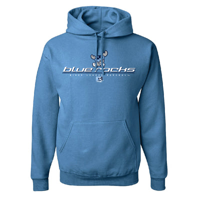 Wilmington Blue Rocks Adult Columbia Blue Elemental Hoodie