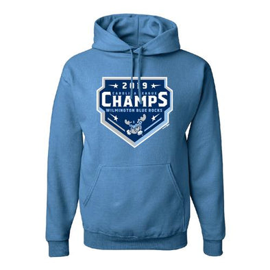 Wilmington Blue Rocks Adult Col. Blue Carolina League Championship Hoodie