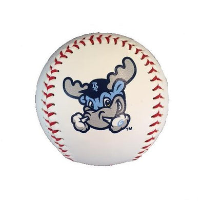 Wilmington Blue Rocks White Rocky Logo Ball