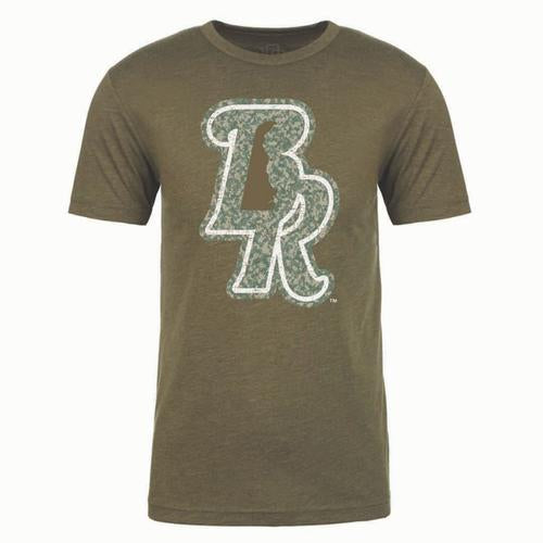 Wilmington Blue Rocks Adult BR Camo Tee
