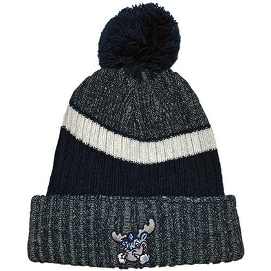 Wilmington Blue Rocks Knit Cap w/ Pom