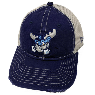 Wilmington Blue Rocks Youth Navy/Stone Mesh Back Cap