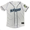 Wilmington Blue Rocks Youth White Home Replica Jersey