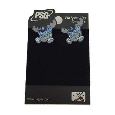 Wilmington Blue Rocks Rocky Post Earrings