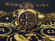 Load image into Gallery viewer, St. Benedict Men's Ring - Sanctus Supply Co.