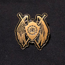"Load image into Gallery viewer, Sanctus Soft Enamel Lapel Pin - 1.25"" - Sanctus Supply Co."