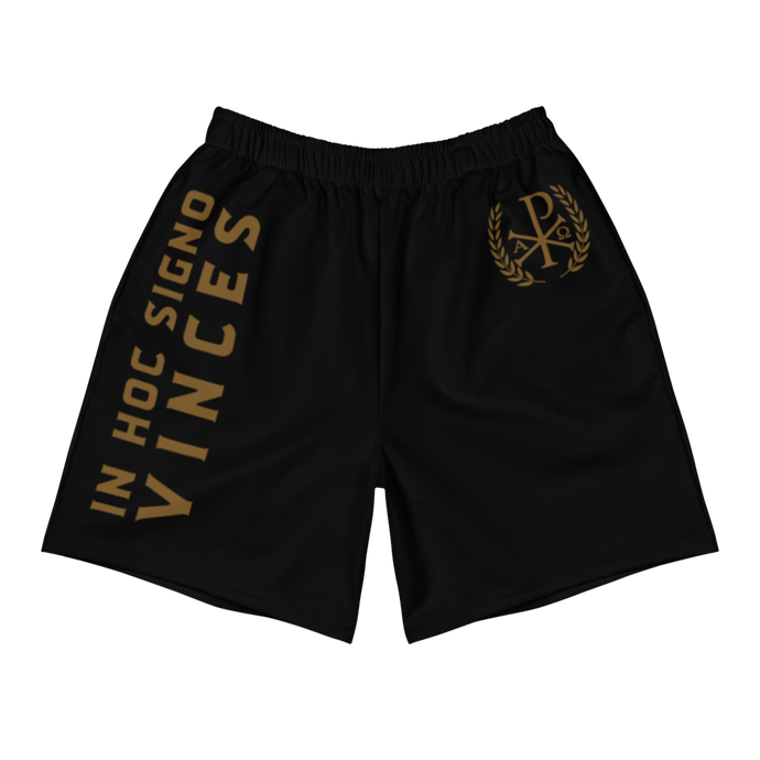 Chi Rho Men's Athletic Shorts - Sanctus Supply Co.