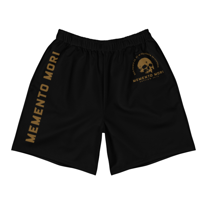 Memento Mori Men's Athletic Shorts - Sanctus Supply Co.