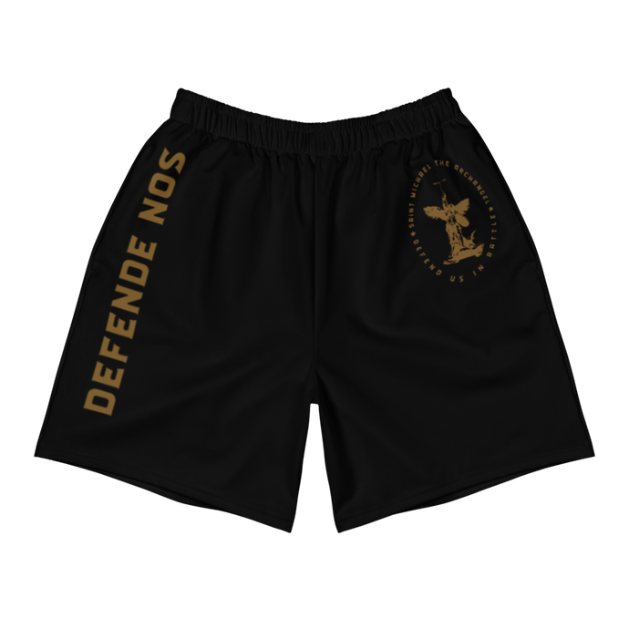 St. Michael Men's Athletic Long Shorts - Sanctus Supply Co.