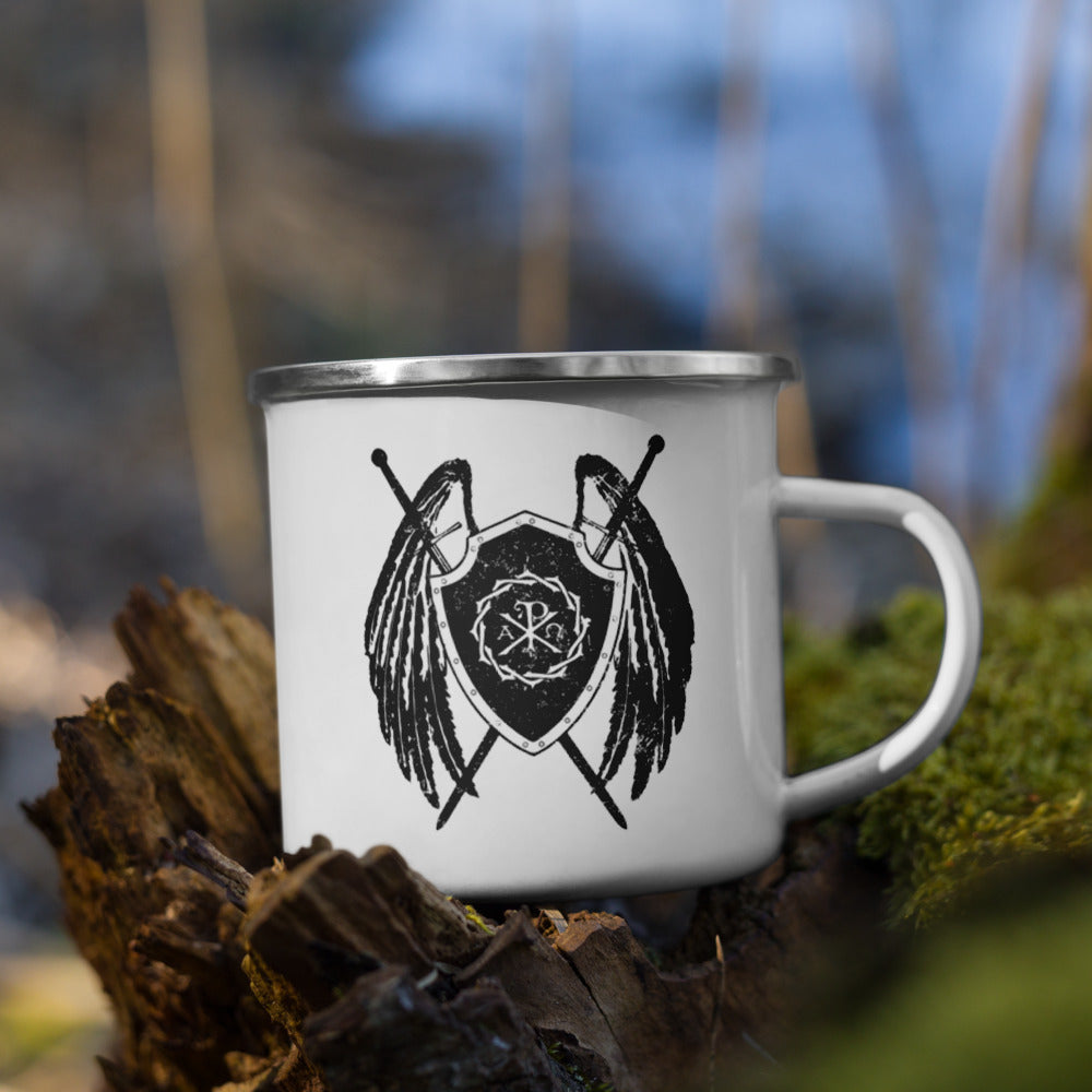 Sanctus Enamel Mug - Sanctus Supply Co.