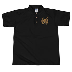 Premium Sanctus Fidelis Embroidered Polo Shirt - Sanctus Supply Co.