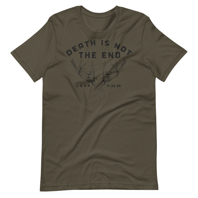Death is Not the End Crew Neck - Sanctus Supply Co.