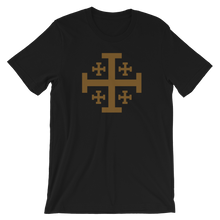 Load image into Gallery viewer, Jerusalem Cross Crew Neck - Sanctus Fidelis