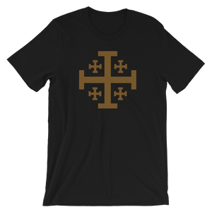 Jerusalem Cross Crew Neck - Sanctus Supply Co.